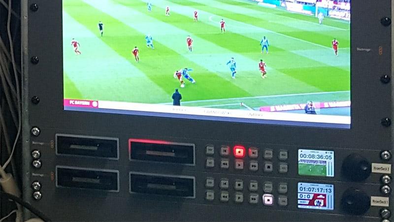 Stadion TV - Belegaufnahme SSD