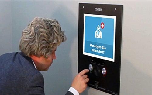 VIEW - Elevator - barrierefreies Notrufsystem